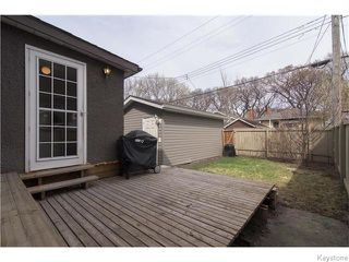 Photo 17: 595 Sherburn Street in Winnipeg: West End / Wolseley Residential for sale (West Winnipeg)  : MLS®# 1610978