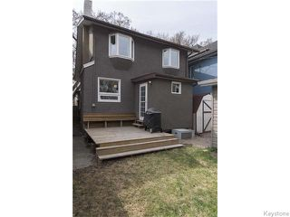 Photo 18: 595 Sherburn Street in Winnipeg: West End / Wolseley Residential for sale (West Winnipeg)  : MLS®# 1610978