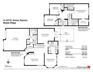 """Photo 20: 16 23151 HANEY Bypass in Maple Ridge: East Central Townhouse for sale in """"STONEHOUSE ESTATES"""" : MLS®# R2221490"""