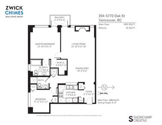 "Photo 16: 204 5770 OAK Street in Vancouver: Oakridge VW Condo for sale in ""THE CROWNE"" (Vancouver West)  : MLS®# R2225640"