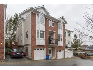 "Photo 1: 29 19551 66TH Avenue in Surrey: Clayton Townhouse for sale in ""Manhatten Skye"" (Cloverdale)  : MLS®# R2233038"