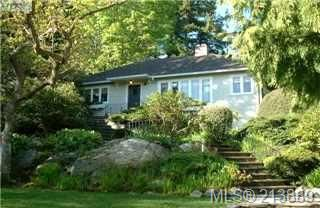 Photo 1: 29 Beach Drive in VICTORIA: OB Gonzales Single Family Detached for sale (Oak Bay)  : MLS®# 213889