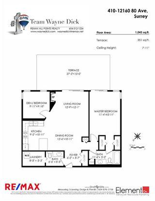 "Photo 18: 410 12160 80 Avenue in Surrey: West Newton Condo for sale in ""LA COSTA GREEN"" : MLS®# R2306376"