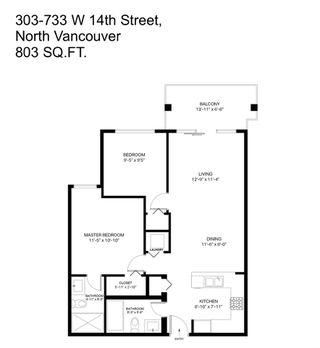"""Photo 18: 303 733 W 14TH Street in North Vancouver: Hamilton Condo for sale in """"REMIX"""" : MLS®# R2322883"""