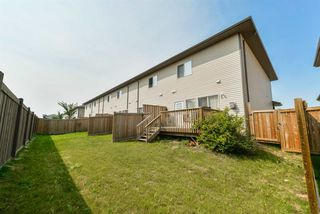 Photo 23: 16825 55 Street in Edmonton: Zone 03 Townhouse for sale : MLS®# E4143683