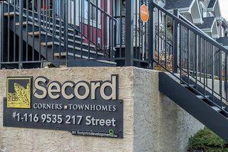 Photo 25: 79 9535 217 Street in Edmonton: Zone 58 Townhouse for sale : MLS®# E4145814