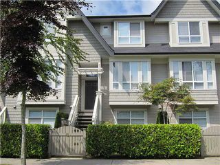 Main Photo: 85 9133 SILLS Avenue in Richmond: McLennan North Townhouse for sale : MLS®# V892712
