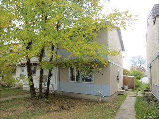 Photo 1: 314 Houde Drive in WINNIPEG: Fort Garry / Whyte Ridge / St Norbert Residential for sale (South Winnipeg)  : MLS®# 1323241
