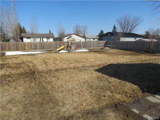 Photo 15: 596 AUBIN Drive in STADOLPHE: Glenlea / Ste. Agathe / St. Adolphe / Grande Pointe / Ile des Chenes / Vermette / Niverville Residential for sale (Winnipeg area)  : MLS®# 1404401