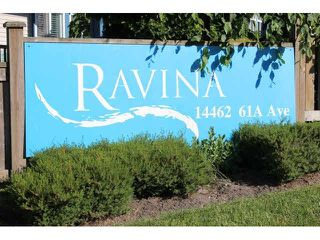 """Photo 18: 37 14462 61A Avenue in Surrey: Sullivan Station Townhouse for sale in """"RAVINA"""" : MLS®# F1444096"""