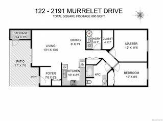 Photo 9: 122 2191 MURRELET DRIVE in COMOX: CV Comox (Town of) Row/Townhouse for sale (Comox Valley)  : MLS®# 754210
