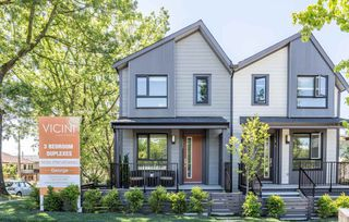 Photo 1: 5283 NANAIMO Street in Vancouver: Victoria VE Townhouse for sale (Vancouver East)  : MLS®# R2210902