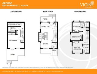 Photo 20: 5283 NANAIMO Street in Vancouver: Victoria VE Townhouse for sale (Vancouver East)  : MLS®# R2210902