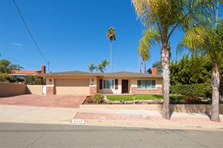 Main Photo: SAN CARLOS House for sale : 4 bedrooms : 6442 GAY LAKE AVE in San Diego