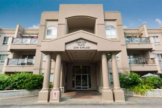 "Photo 1: 307 2109 ROWLAND Street in Port Coquitlam: Central Pt Coquitlam Condo for sale in ""PARKVIEW PLACE"" : MLS®# R2300379"