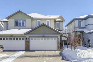 Photo 1: 6032 SUNBROOK Landing: Sherwood Park House Half Duplex for sale : MLS®# E4146361