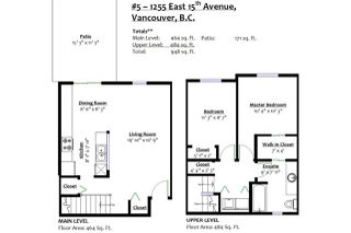 Photo 18: 5 1255 E 15TH Avenue in Vancouver: Mount Pleasant VE Townhouse for sale (Vancouver East)  : MLS®# R2352712
