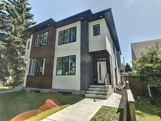 Photo 2: 7713 79 Avenue in Edmonton: Zone 17 House Half Duplex for sale : MLS®# E4167663
