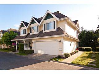 "Photo 1: 30 11355 236TH Street in Maple Ridge: Cottonwood MR Townhouse for sale in ""ROBERTSON RIDGE"" : MLS®# V908874"