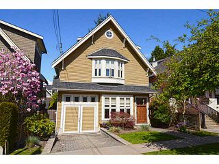"""Photo 1: 875 W 24TH Avenue in Vancouver: Cambie House for sale in """"DOUGLAS PARK"""" (Vancouver West)  : MLS®# V1057982"""