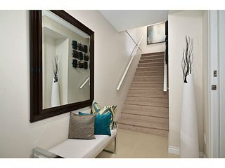 """Photo 4: 37 1268 RIVERSIDE Drive in Port Coquitlam: Riverwood Townhouse for sale in """"SOMERSTON LANE"""" : MLS®# V1058135"""
