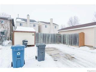 Photo 20: 86 Northcliffe Drive in WINNIPEG: Transcona Residential for sale (North East Winnipeg)  : MLS®# 1529487