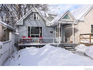 Photo 1: 319 Arnold Avenue in WINNIPEG: Manitoba Other Residential for sale : MLS®# 1603205