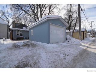 Photo 17: 319 Arnold Avenue in WINNIPEG: Manitoba Other Residential for sale : MLS®# 1603205