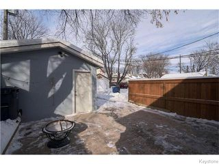 Photo 16: 319 Arnold Avenue in WINNIPEG: Manitoba Other Residential for sale : MLS®# 1603205