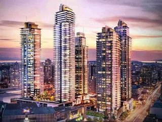 "Photo 1: 1107 4688 KINGSWAY in Burnaby: Metrotown Condo for sale in ""STATION SQUARE"" (Burnaby South)  : MLS®# R2105986"
