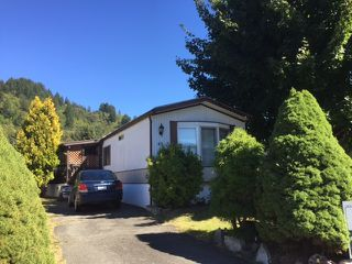 "Main Photo: 63 46484 CHILLIWACK LAKE Road in Sardis: Chilliwack River Valley Manufactured Home for sale in ""Chilliwack River Estates"" : MLS®# R2108181"