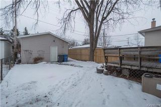 Photo 19: 304 Melrose Avenue West in Winnipeg: West Transcona Residential for sale (3L)  : MLS®# 1801473