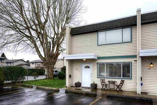"""Photo 1: 18 4949 57 Street in Delta: Hawthorne Townhouse for sale in """"OASIS"""" (Ladner)  : MLS®# R2238489"""