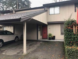 "Main Photo: 48 6712 BAKER Road in Delta: Sunshine Hills Woods Townhouse for sale in ""Sunridge Estates"" (N. Delta)  : MLS®# R2319386"