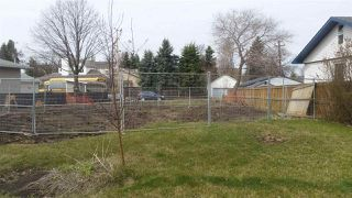 Photo 1: 9314 79 Street NW in Edmonton: Zone 18 Vacant Lot for sale : MLS®# E4135700