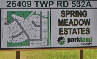 Photo 1: 46 26409 TWP Rd 532A: Rural Parkland County Rural Land/Vacant Lot for sale : MLS®# E4143294