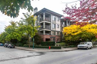 """Photo 1: 107 2468 ATKINS Avenue in Port Coquitlam: Central Pt Coquitlam Condo for sale in """"Brodeaux"""" : MLS®# R2340123"""