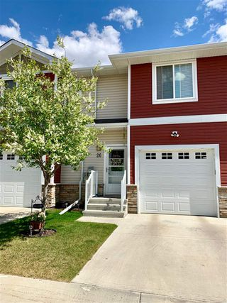 Photo 1: 26 450 MCCONACHIE Way in Edmonton: Zone 03 Townhouse for sale : MLS®# E4146032