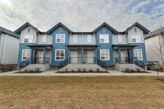 Photo 1: 6075 SCHONSEE Way in Edmonton: Zone 28 Townhouse for sale : MLS®# E4151628