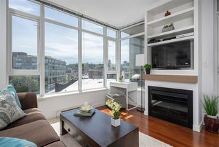 """Photo 2: 413 2055 YUKON Street in Vancouver: False Creek Condo for sale in """"THE MONTREUX"""" (Vancouver West)  : MLS®# R2371441"""
