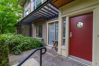 """Photo 2: 107 9229 UNIVERSITY Crescent in Burnaby: Simon Fraser Univer. Townhouse for sale in """"Serenity"""" (Burnaby North)  : MLS®# R2377262"""