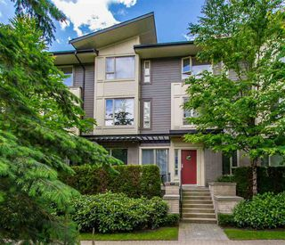"Photo 1: 107 9229 UNIVERSITY Crescent in Burnaby: Simon Fraser Univer. Townhouse for sale in ""Serenity"" (Burnaby North)  : MLS®# R2377262"