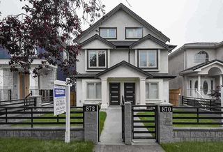 Main Photo: 870 E 58TH Avenue in Vancouver: South Vancouver 1/2 Duplex for sale (Vancouver East)  : MLS®# R2529383