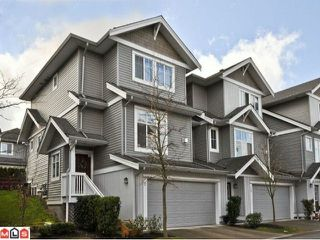 "Photo 1: 9 16760 61ST Avenue in Surrey: Cloverdale BC Townhouse for sale in ""Harvest Landing"" (Cloverdale)  : MLS®# F1106034"