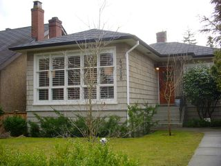 Main Photo: 4358 West 15th. Ave. Vancouver in : Point Grey Home for sale