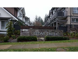 "Photo 3: 114 1460 SOUTHVIEW Street in Coquitlam: Burke Mountain Townhouse for sale in ""CEDAR CREEK"" : MLS®# V1097892"