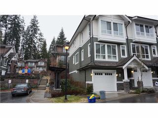 "Photo 1: 114 1460 SOUTHVIEW Street in Coquitlam: Burke Mountain Townhouse for sale in ""CEDAR CREEK"" : MLS®# V1097892"