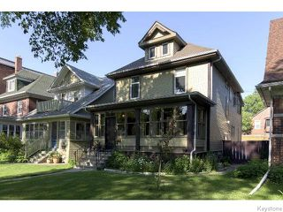Photo 1: 139 Home Street in WINNIPEG: West End / Wolseley Residential for sale (West Winnipeg)  : MLS®# 1517545