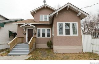 Photo 1: 419 College Avenue in Winnipeg: North End Residential for sale (4A)  : MLS®# 1706149