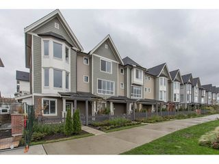 "Main Photo: 112 8138 204 Street in Langley: Willoughby Heights Townhouse for sale in ""Ashbury and Oak"" : MLS®# R2213113"